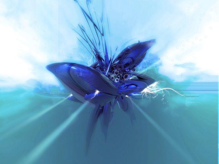 Blue Wallpaper 13 1600x1200 768x576