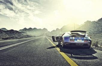 Bugatti Veyron Background 37 1366x768 340x220