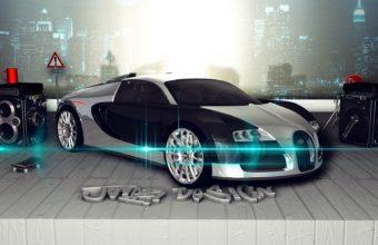Bugatti Veyron Wallpaper 08 1920x1080 340x220