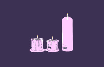 Candle Background 01 1280x800 340x220