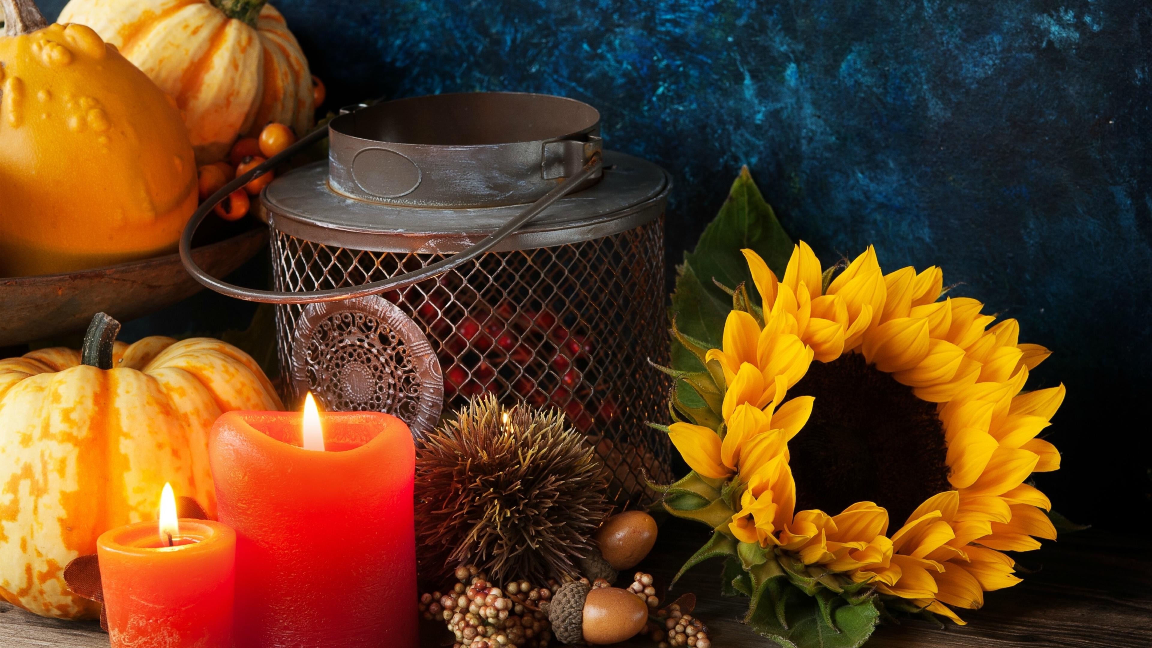 Light Up Fall - Flowers & Nature Background Wallpapers on ... |Fall Candles Background