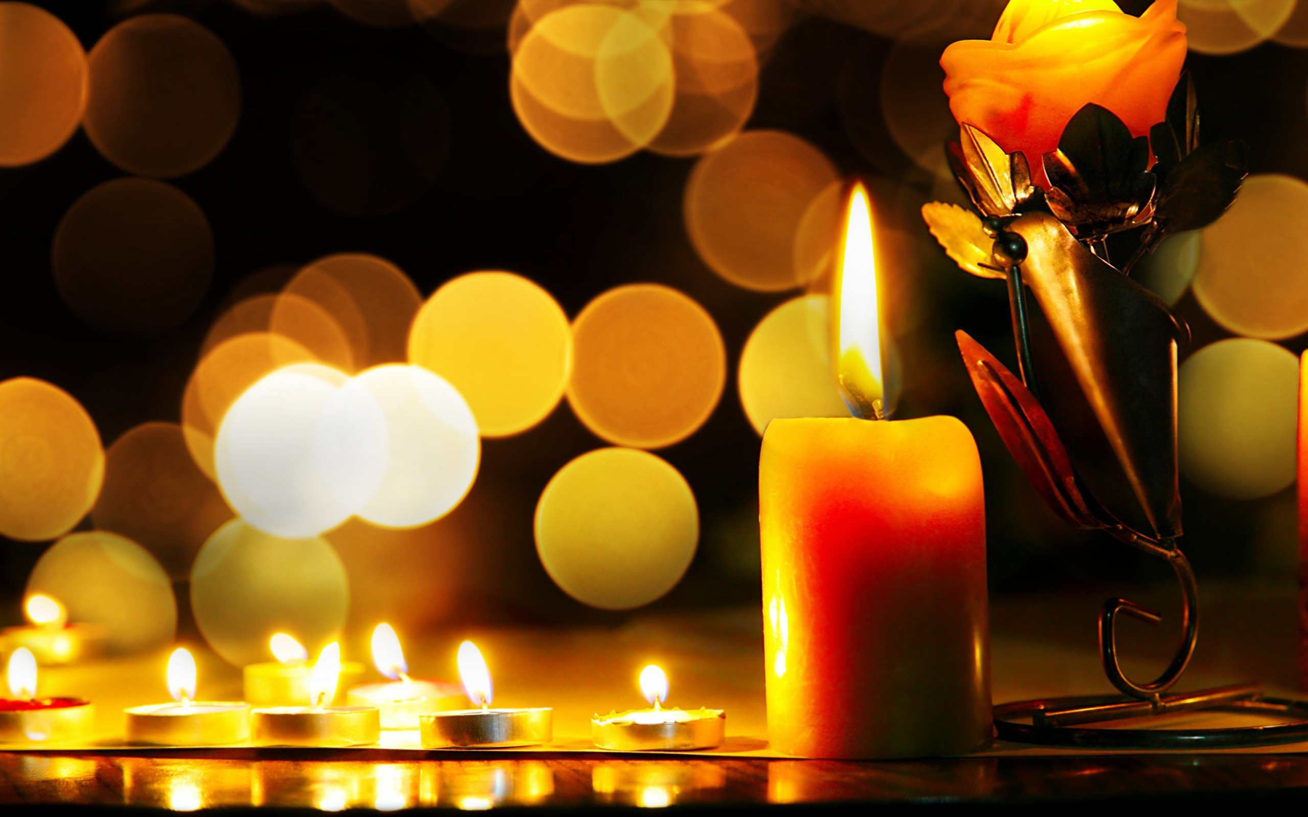 Candle Wallpaper 21
