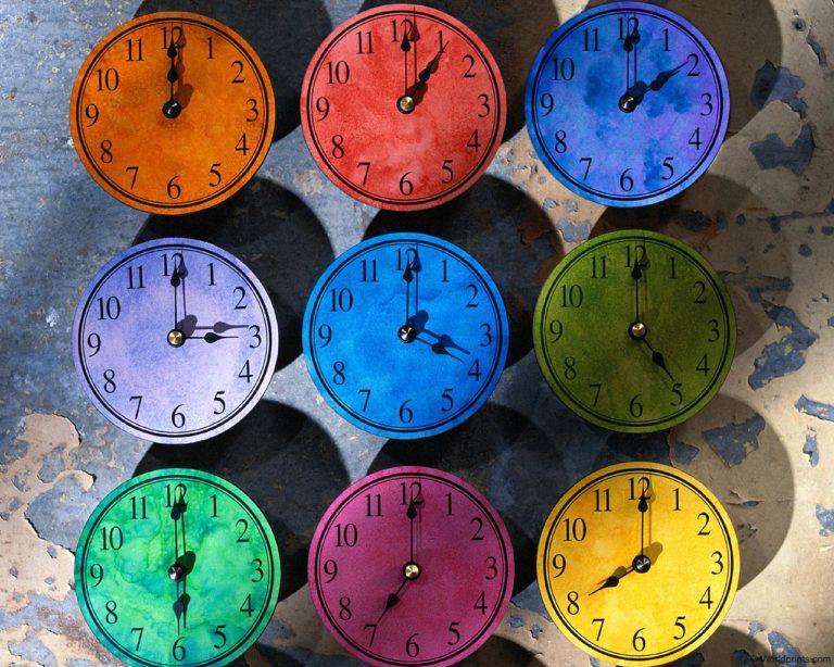 Clock Wallpaper 08 1280x1024 768x614
