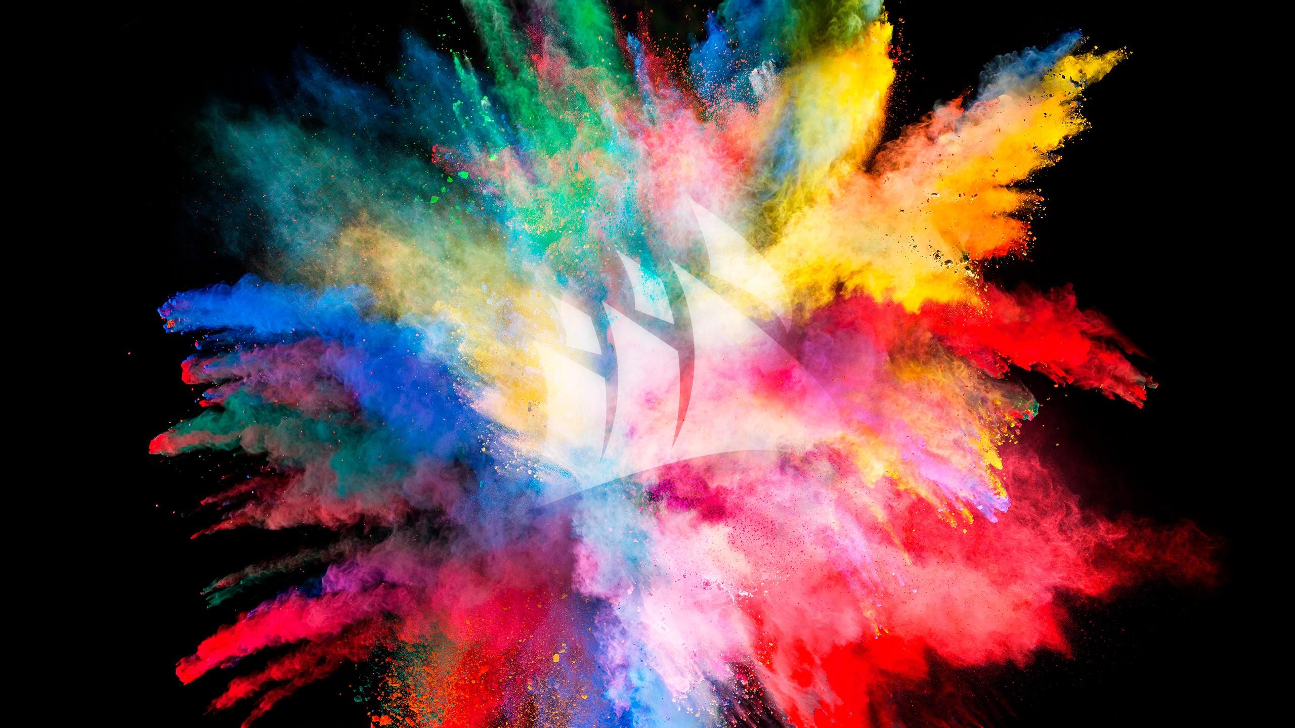 Color Burst Wallpaper 2560x1440