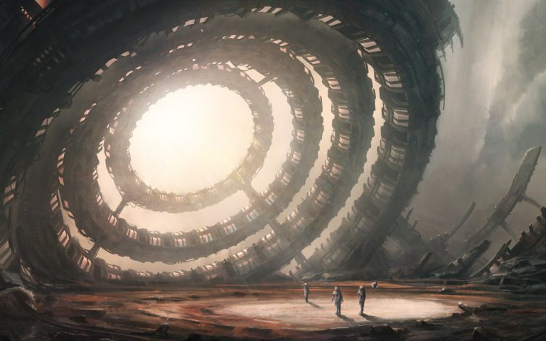 Fiction Old Observatory Art 2560x1600 768x480