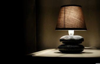 Glowing Lamp In Room 3840x2160 340x220