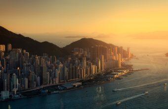 Hong Kong Wallpaper 11 1600x900 340x220