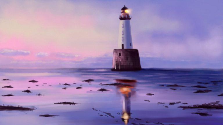 Lighthouse Background 46 1920x1080 768x432