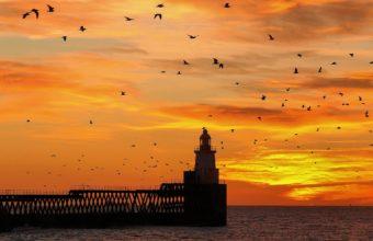 Lighthouse Wallpaper 04 3598x1864 340x220