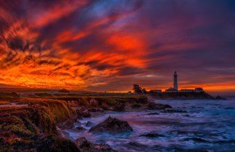 Lighthouse Wallpaper 08 3000x1514 340x220