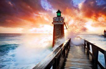 Lighthouse Wallpaper 42 1920x1200 340x220