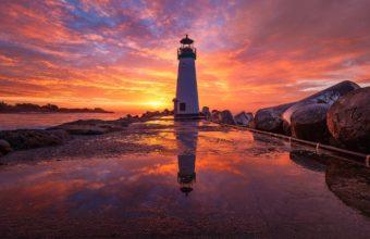 sunrise in baily lighthouse dublin ireland 2048x1365