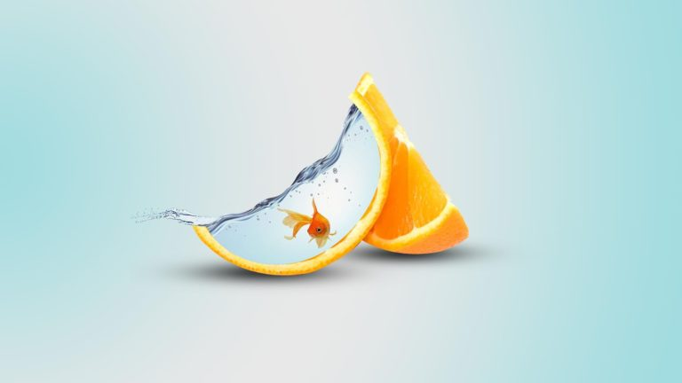 Orange Artwork 3840x2160 768x432
