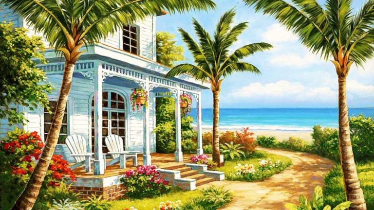 Painting Wallpapers 18 1366 x 768 768x432