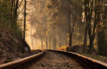 Railroad Wallpaper 28 2880x1800 340x220