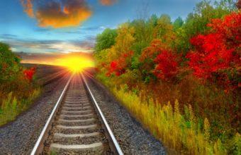 Railroad Wallpaper 39 1600x1000 340x220