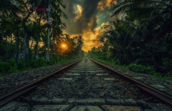 Railroad Wallpaper 46 1920x1200 340x220