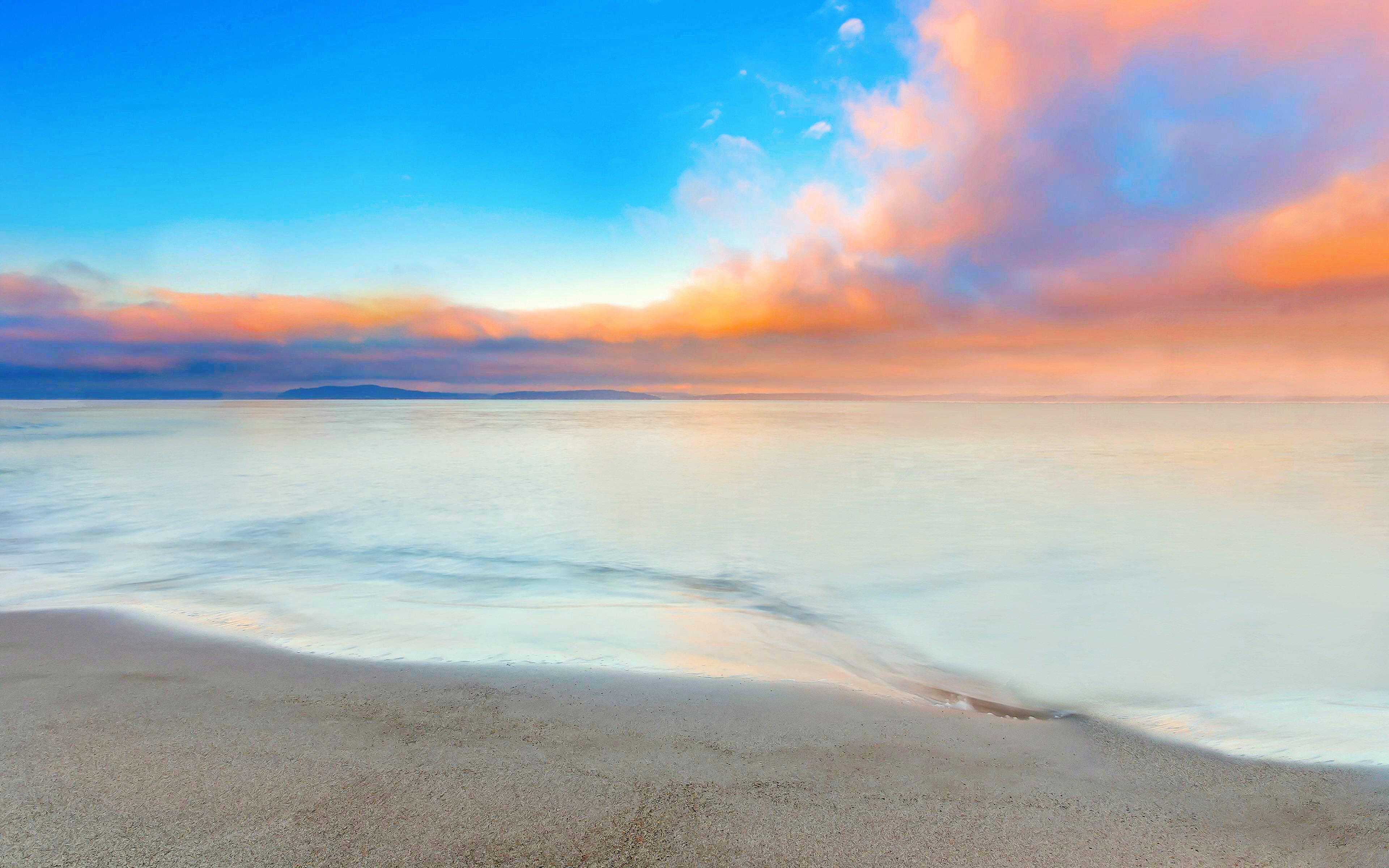 White Clouds In The Sky 4k Hd Desktop Wallpaper For 4k: Scenery Wallpapers 44