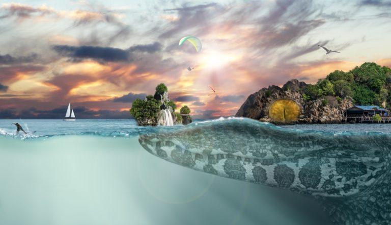 Sea Island Fantasy Hd 1336x768 768x441