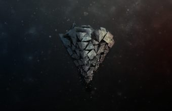 Shards Stone Background 2560 x 1600 340x220