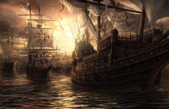 Ship Wallpaper 07 1920x1200 340x220