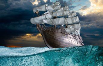 Ship Wallpaper 27 1920x1200 340x220