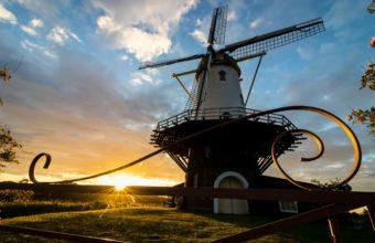 Windmill Wallpaper 39 2560x1600 340x220