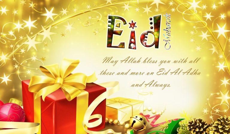 Eid Mubarak Wallpaper 20 1920x1122 768x449