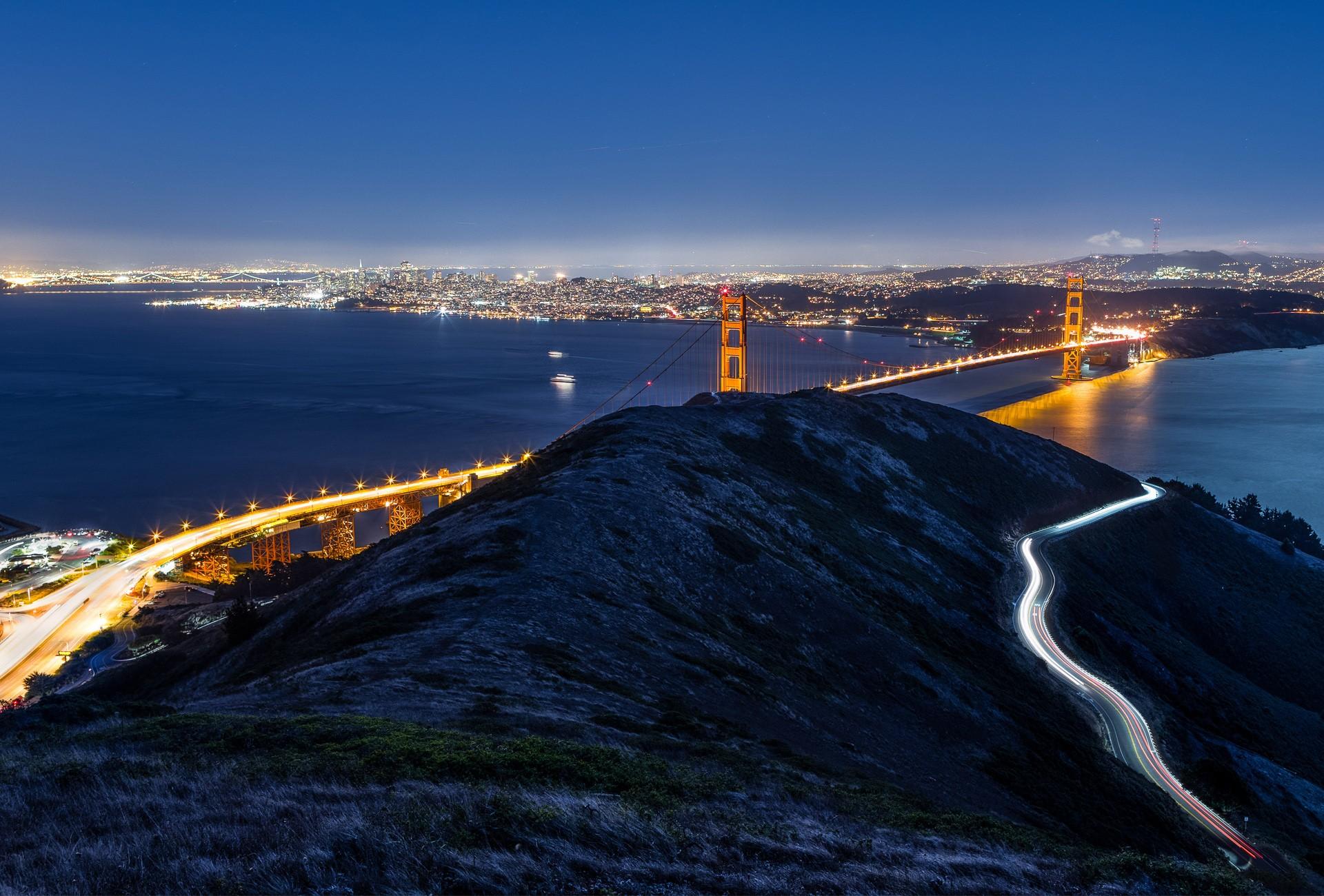 Amazing Wallpaper Night Golden Gate Bridge - Golden-Gate-Wallpaper-18-1920x1300  Pictures-55249.jpg