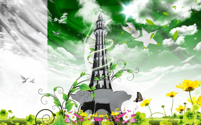 Minar e Pakistan Wallpaper 3 2560x1600 768x480