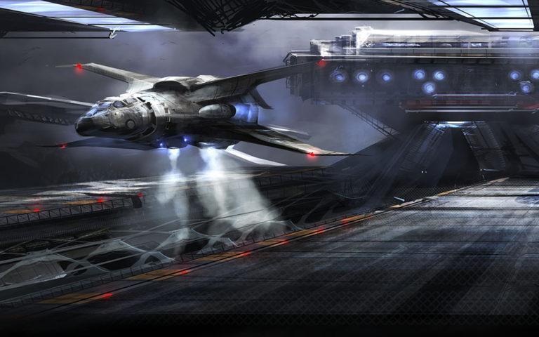 Spaceship Background 12 1920x1200 768x480