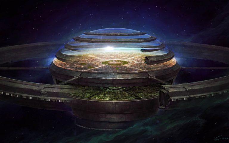 Spaceship Background 30 2880x1800 768x480