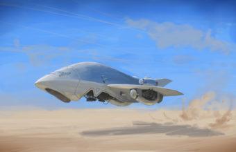 Spaceship Background 33 3977x2237 340x220