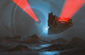 Spaceship Background 38 1920x1080 340x220
