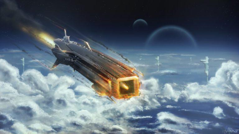 Spaceship Background 40 2560x1440 768x432
