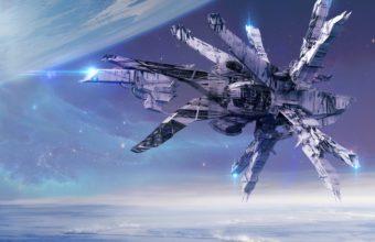 Spaceship Background 43 5961x4224 340x220