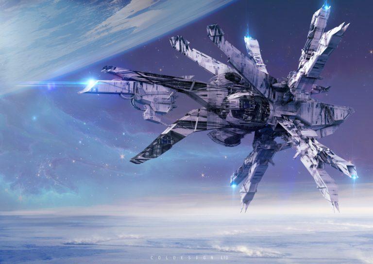 Spaceship Background 43 5961x4224 768x544