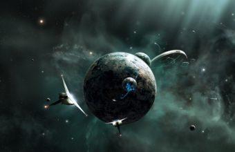 Spaceship Wallpaper 09 2208x1482 340x220