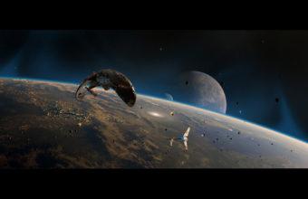 Spaceship Wallpaper 12 1920x1200 340x220