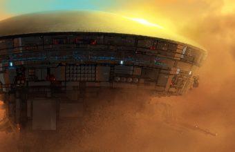 Spaceship Wallpaper 33 1600x900 340x220