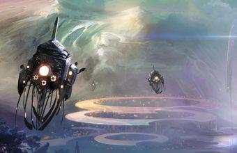 Spaceship Wallpaper 39 1920x1080 340x220