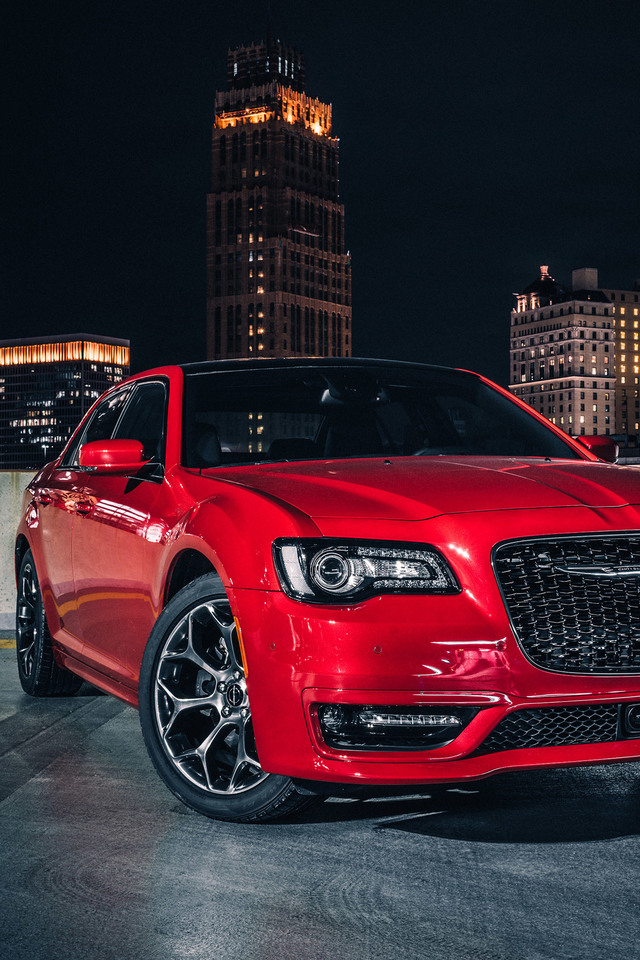 2017 Chrysler 300s Sport Bo Wallpaper 640 x 960