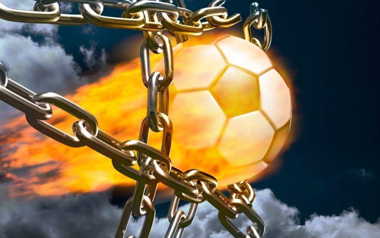 3D Powerful Football 1920x1200 768x480