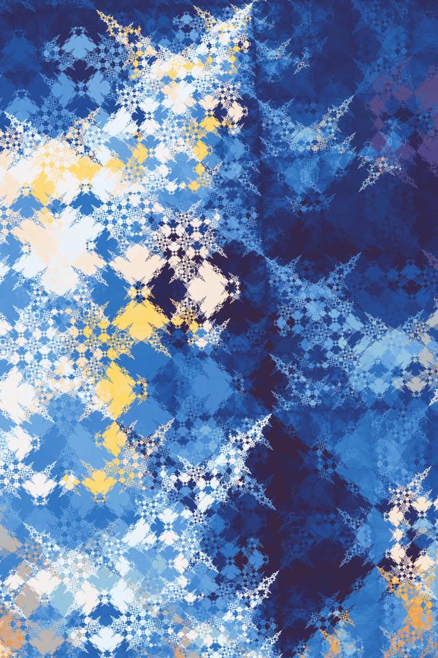 Abstract Fractal Dg Wallpaper 640 x 960