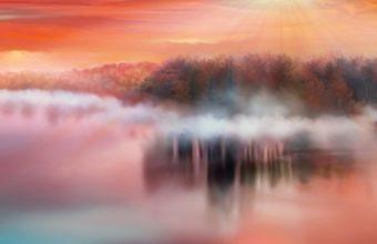 Artistic River Hp Wallpaper 640 x 960 340x220