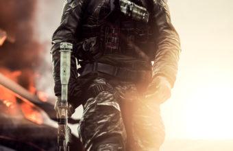 Battlefield 4 Solider 8l Wallpaper 640 x 960 340x220