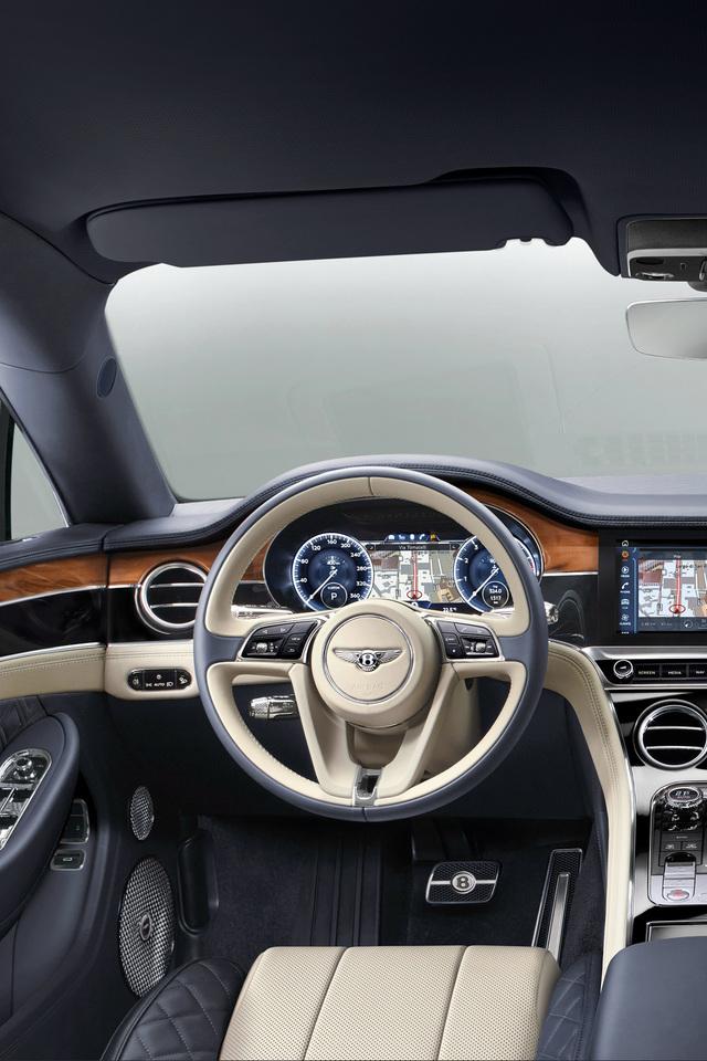 Bentley Continental Gt 2017 Interior W2 Wallpaper 640 X 960