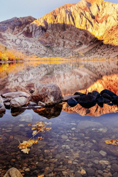 Convict Lake Autumn 2k Wallpaper 640 x 960 380x570
