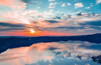 Crater Lake Oregon Ty Wallpaper 640 x 960 340x220