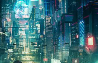Cyberpunk City Rt Wallpaper 640 x 960 340x220